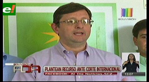UD formaliza denuncia ante CIDH contra el proceso de reforma de la CPE