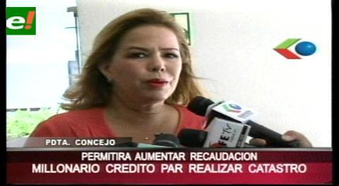 Municipio cruceño aprueba crédito para la realización de un catastro