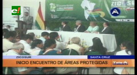 Rubén Costas inauguró el II Encuentro de Áreas Protegidas de la ZICOSUR