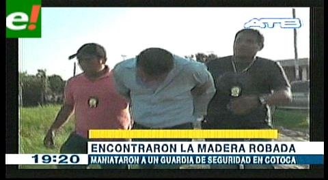 Capturan a presunto atracador de barraca