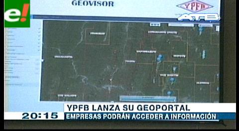 YPFB lanza Geoportal que contiene datos espaciales de hidrocarburos