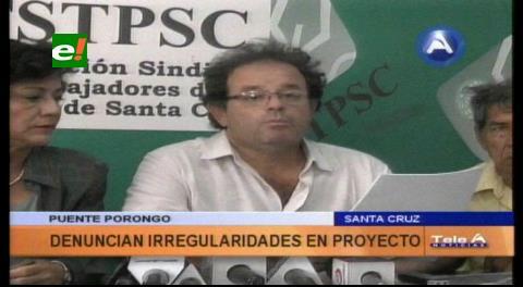 Denuncian irregularidades en el proyecto de construcción del Puente Bicentenario que conectará a Porongo