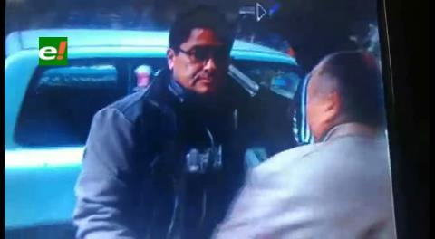 La Paz. Exjuez Barrientos es aprehendido y declara ante la Fiscalía