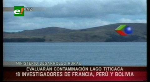 Expertos navegarán el lago menor del Titicaca para evaluar el grado de contaminación
