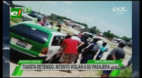 Un taxista es golpeado por intentar abusar a pasajera