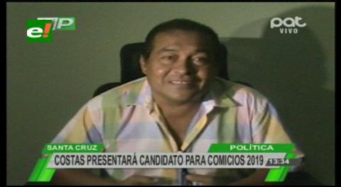 Candidato de Demócratas a Alcaldia cruceña: Concejales critican la posición del Gobernador Costas