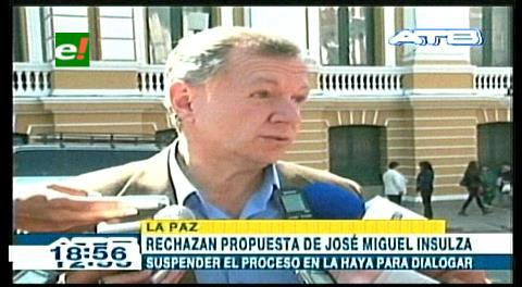 Presidente del Senado critica pedido de José Miguel Insulza
