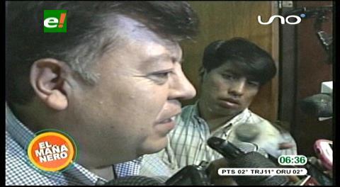 Cochabamba. Exalcalde Castellanos declara por obra colapsada