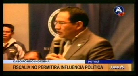 """Guerrero: """"Fiscalía no permitirá ninguna influencia política en el caso Fondioc"""""""