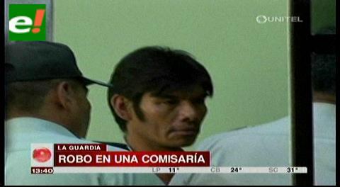 Dos detenidos por robo en un puesto policial