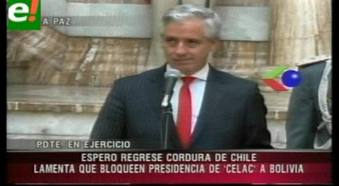 Vicepresidente acusa que Chile pretende bloquear su eventual Presidencia en la Celac