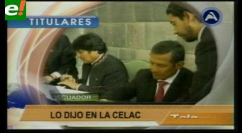 Titulares TV: Chile busca acuerdos energéticos y de industrialización de Litio con Bolivia
