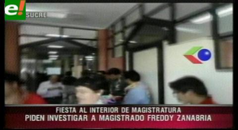 Video revela que armaron una fiesta en el Consejo de la Magistratura