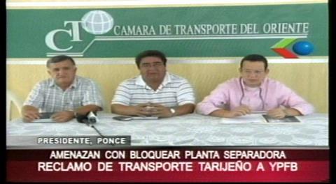 Camioneros piden contratos a YPFB para trasladar GLP