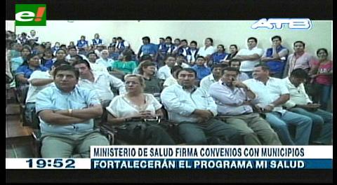 Programa Mi Salud: Gobierno firma convenio con 27 municipios