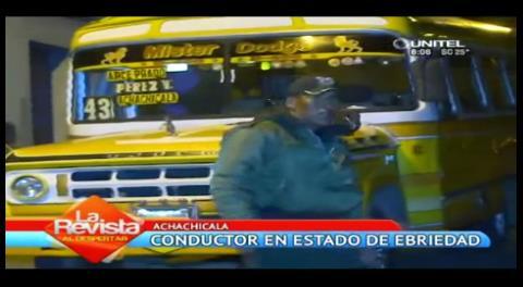 La Paz: Chofer ebrio chocó y huyó, pero fue atrapado
