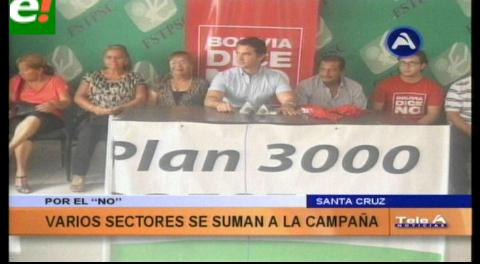 """""""Bolivia dice No"""" y la Asociación del Adulto Mayor se unen, harán campaña por el No"""