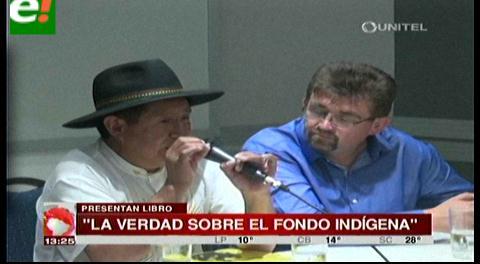 Presentaron informe del Fondioc en Santa Cruz