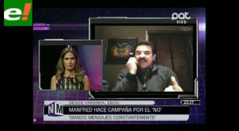 Manfred: Quieren ponerle un nombre a su derrota en el referéndum, por eso culpan a los opositores