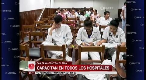 Sedes capacita sobre el Zika en diferentes hospitales cruceños