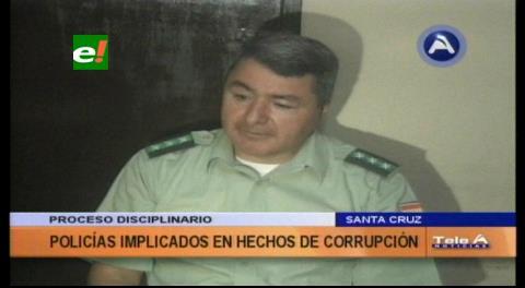 En Santa Cruz: Dieron de baja definitiva a 114 policías acusados de corrupción