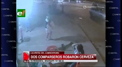 Comparseros robaron 15 cajas de cerveza cerca del Cambódromo