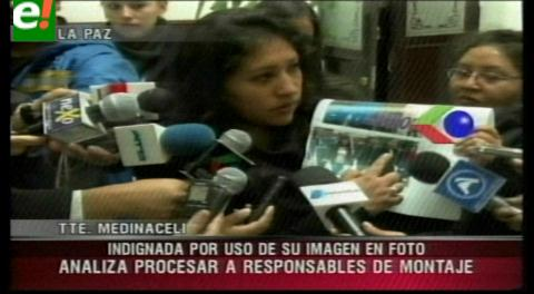 Teniente de la Policía analiza demandas por uso su imagen en campaña por el No