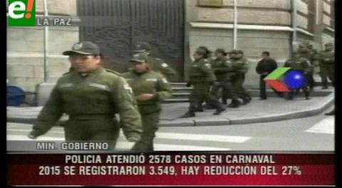 52 fallecidos y 2.578 hechos policiales se registraron en las fiestas de carnaval