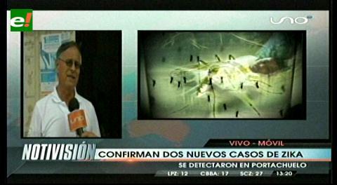Confirman 2 nuevos casos de zika en Santa Cruz