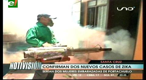 Confirman 2 casos más de zika en Portachuelo