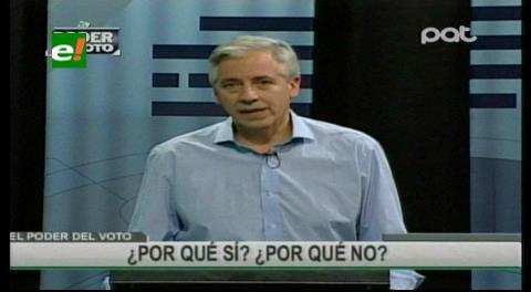 """García Linera: """"El Gobierno no permitirá abusos a contribuyentes por concepto de multas impositivas"""""""