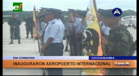 Bolivia apunta a formar pilotos de otros países desde Chimoré