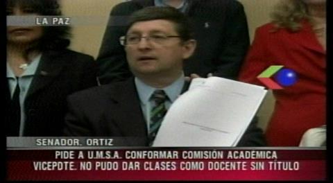Piden a la UMSA explicar cómo García Linera fue docente