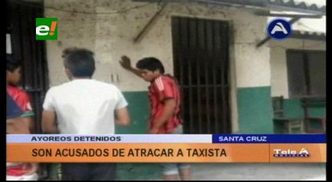 Detienen a tres ayoreos acusados de atracar a un taxista