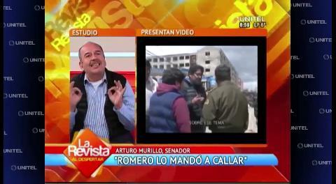 Senador Murillo denuncia conspiración contra la alcaldesa de El Alto