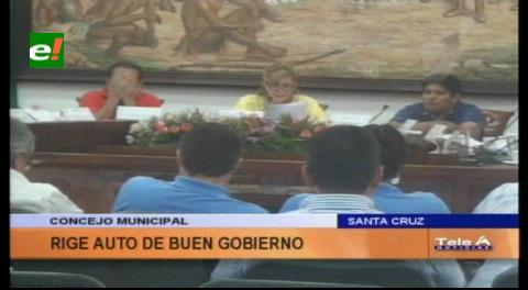 Alcaldía de Santa Cruz declara Auto de Buen Gobierno por el referéndum
