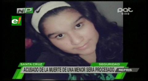 Piden imputar al detenido por muerte de adolescente
