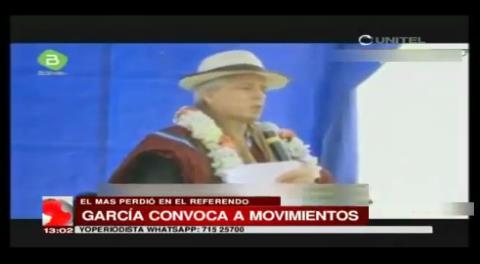 """García Linera: """"La derecha le tiene miedo a Evo"""""""