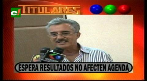 Titulares de TV: CAO espera que resultados del referéndum no afecten la agenda productiva con el Gobierno
