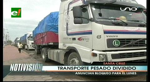 Transporte pesado anuncia bloqueo nacional el próximo lunes
