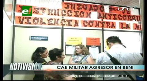 Mujer denuncia a militar del Ejército por agresión física