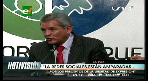 Defensor del Pueblo: Las redes sociales están amparadas por la ONU