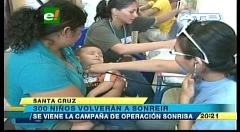3.000 beneficiados de Operación Sonrisa
