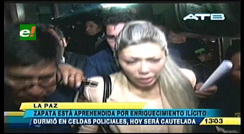 Fiscalía imputa a Gabriela Zapata y a dos exfuncionarios del Ministerio de la Presidencia