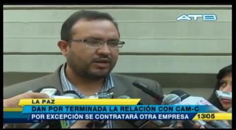 El Gobierno confirma que habrá una nueva empresa para construir la vía Montero Bulo Bulo