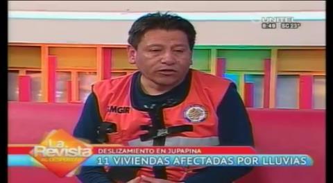 Municipio paceño socializará proyecto en Jupapina por el deslizamiento