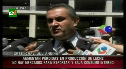 """PIL reporta """"deterioro"""" financiero por caída del precio internacional de la leche"""