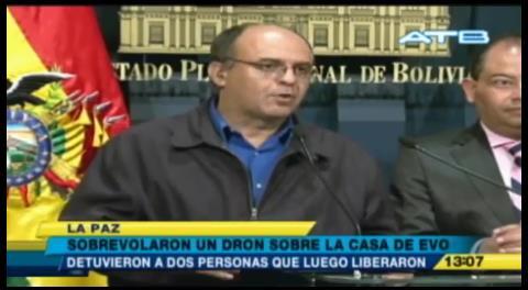 Ferreira plantea ley para regular uso de drones por sobrevuelo sospechoso en la Residencia Presidencial