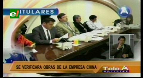 Titulares de TV: Comisión parlamentaria inspeccionará las obras de la CAMC