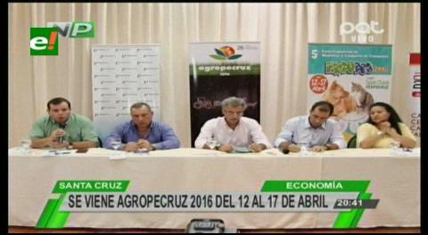 Del 12 al 17 de abril: Agropecruz tendrá 215 expositores